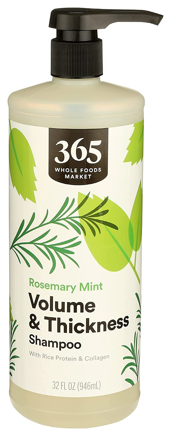 365 by Time sale WFM Shampoo Volume And Fl 32 Mint Oz Thick shop Rosemary