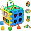 Forstart Activity Cube | 6 in 1 Multipurpose Learner Play Cube