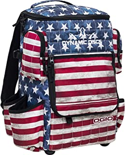 Dynamic Discs Ranger Backpack Disc Golf Bag - Holds Over 20 Discs (Stars and Stripes)