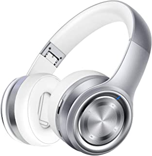 P26 Auriculares Bluetooth, In-Ear 80H de Reproducción Hi-Fi Sonido Estéreo, Bajo Profundo Cable/Inalámbrico/TF, Plegable I...