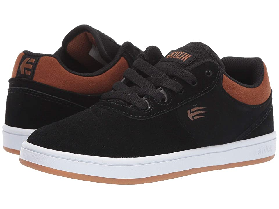 etnies Kids Joslin (Toddler/Little Kid/Big Kid) (Black/Brown) Boy
