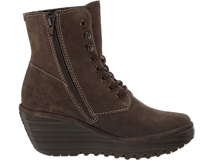 Fly London Ygot588volar Sludge Oil Suede Boots
