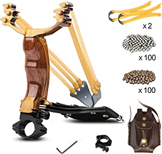YZXLI Professional Outdoor Hunting Stainless Steel slingshots