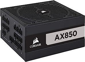Corsair AX Series, AX850, 850 Watt, 80+ Titanium Certified, Fully Modular Power Supply