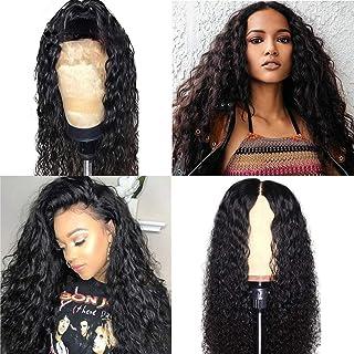 360 Deep Wave Lace Front Wigs 150% Density Lace Front Wigs Human Hair 360 Lace Frontal Wigs Deep Wave with Baby Hair Lace Front Human Hair Wigs