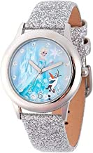 Disney Kids Diamonds Frozen Wrist Watch Girls Elsa Anna Children Kids Gift Party Christmas W002163-1