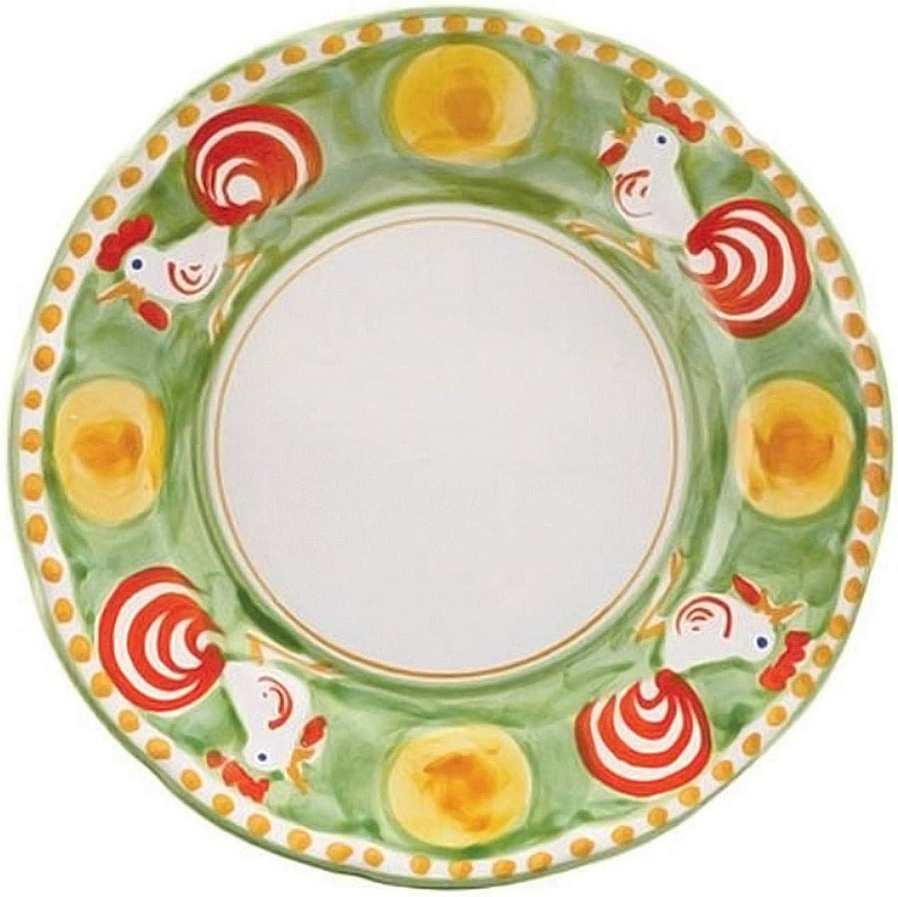 Vietri Gallina Genuine Dinner Portland Mall Plate - Collection Campagna