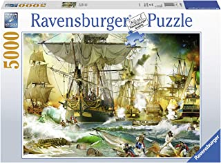 Ravensburger 13969 Battle on The High Seas - 5000 Piece Puzzle for Adults, Every Piece is Unique, Softclick Technology Means Pieces Fit Together Perfectly