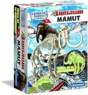 Science and Game–arqueojugando Mamut Fluorescent, Educational Game (Clementoni 550272)