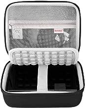BOVKE Protective Case for Seagate Expansion Desktop,Western Digital WD My Book/Elements Desktop External Hard Drive USB 3.0,2TB 3TB 4TB 5TB 6TB 8TB Carrying Case Storage Travel Bag, Black