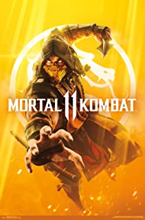 Trends International Mortal Kombat 11 - Key Art Wall Poster, 22.375