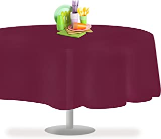 Berry 12 Pack Premium Disposable Plastic Tablecloth 84