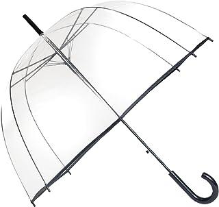SMATI Stick Birdcage Clear Umbrella Bubble Transparent - Automatic Open
