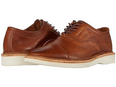 Frye Paul Weekend Bal Oxford (Tan Sun-Washed Leather) Men