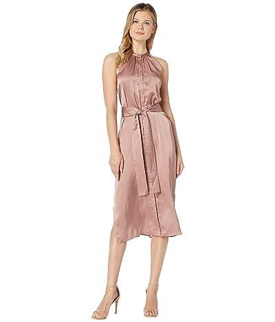 American Rose Tierra Button Up Dress (Rose) Women