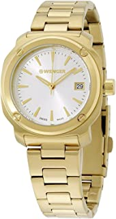 Wenger Edge Index Quartz Movement Silver Dial Ladies Watch 01.1121.107