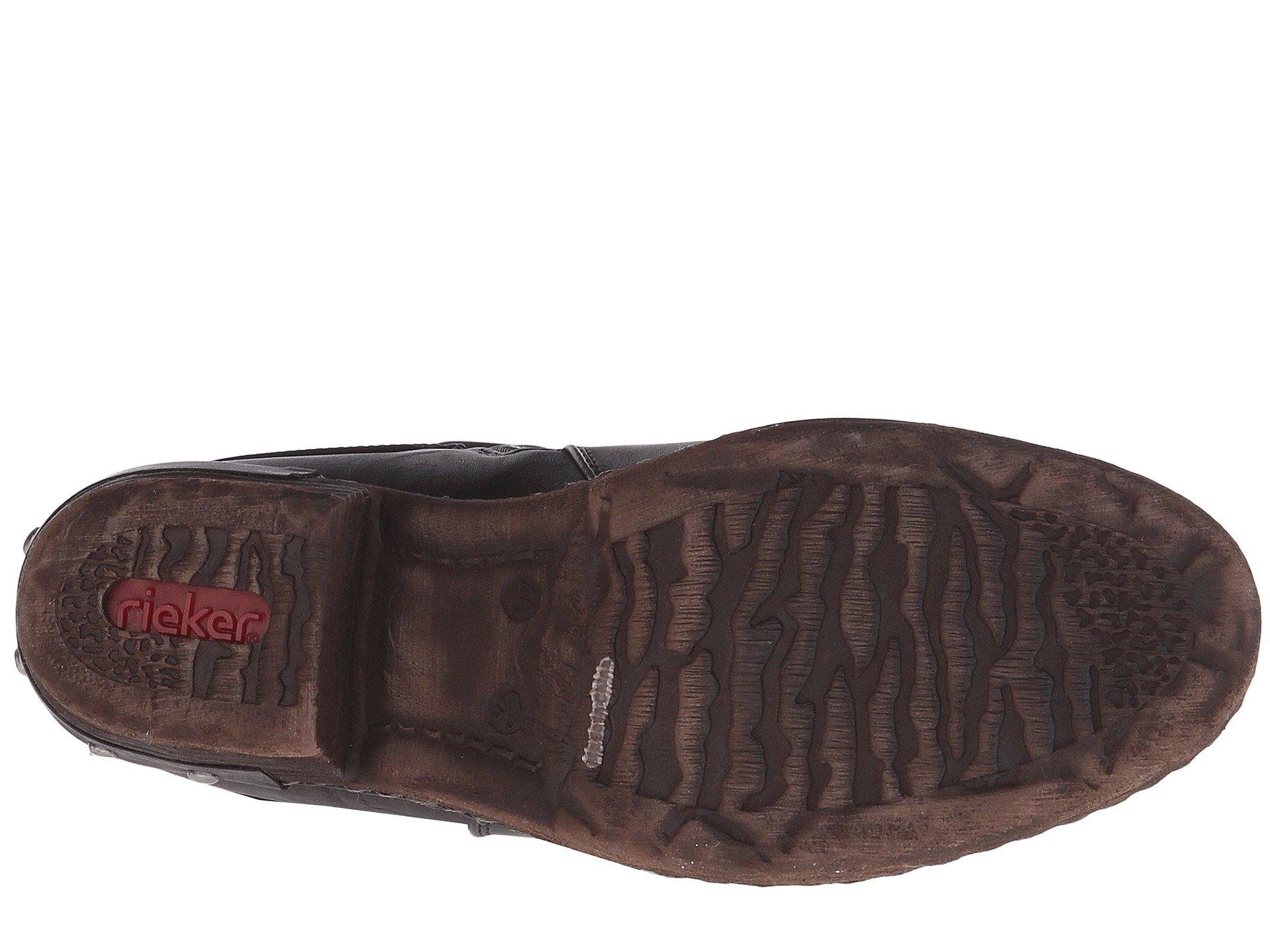 Mombasa Rieker Genf schwarz 93655 kastanie Schwarz Eagle 4IIqBwSf