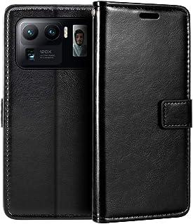 Xiaomi Mi 11 Ultra plånboksfodral, premium PU-läder magnetiskt flipfodral med korthållare och ställ för Xiaomi Mi 11 Ultra