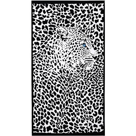CASA TESSILE Telo Mare Spugna Jacquard Lion 90x170 cm.