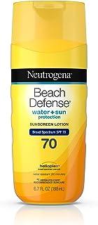 Neutrogena Beach Defense Sunscreen Lotion SPF 70, 198ml