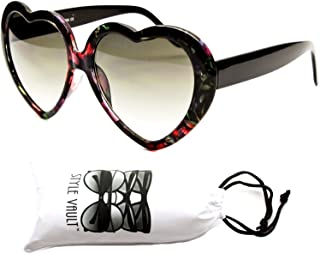 Wm507-vp Style Vault Heart Love Plastic Sunglasses