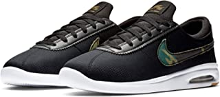Men's SB Air Max Bruin Vapor Skate Shoe (Black/Multi-Color-White, 10.5 M US)