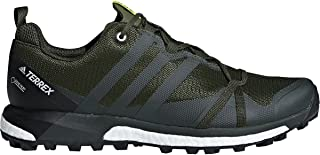 new arrival 75b68 793a3 adidas outdoor Men s Terrex Agravic GTX Base Green Base Green Shock Yellow  13 D