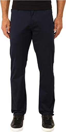 Alpha Khaki Stretch Slim Tapered
