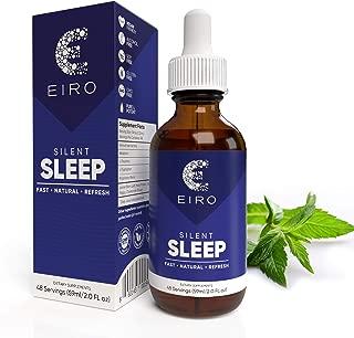 EIRO Silent Sleep │ All Natural liquid Sleep Aid Remedy, with Melatonin, L-Theanine, Chamomile flower & more │ Superior Absorption │ Fast • Natural • Refresh