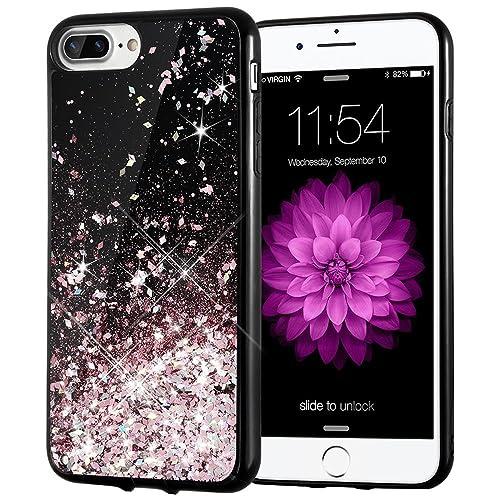 Black With Roses Iphone 7 Plus Case Amazon Com