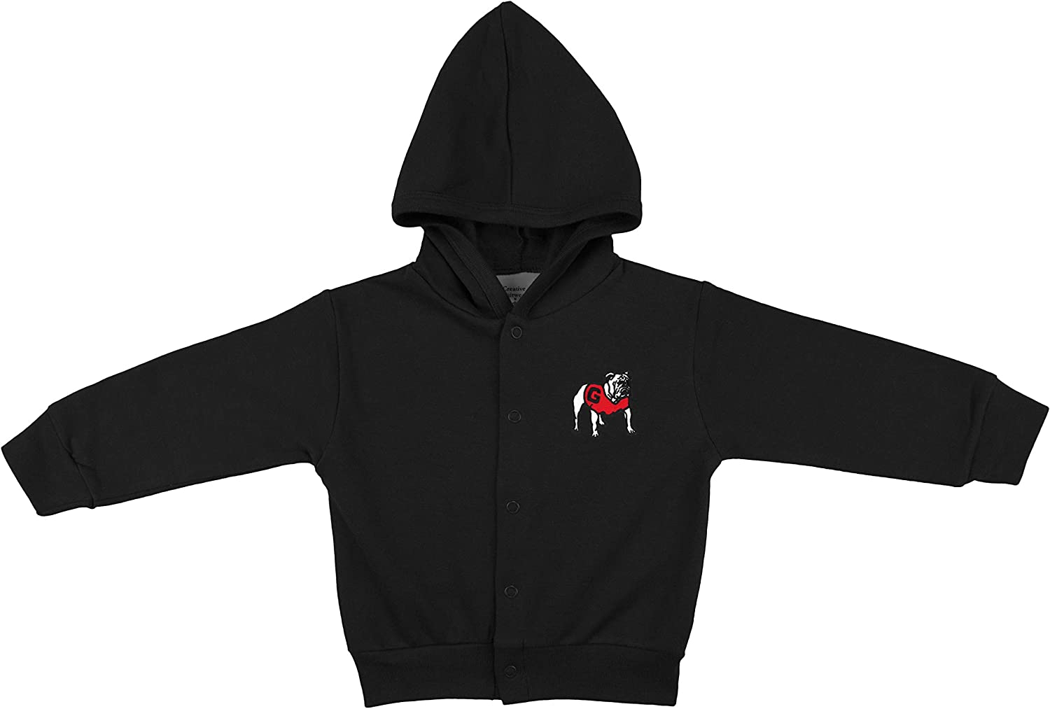 Popular product University of Georgia Bulldogs Baby Jack Hooded and Toddler OFFicial mail order Snap