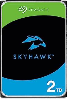 "Seagate SkyHawk 2TB SATA III 3.5"" Hard Drive - 5900RPM, 64MB Cache"