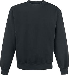 Fruit Of The Loom Sweat-Shirt Homme Sweat-Shirt Noir, , Regular / Coupe Standard