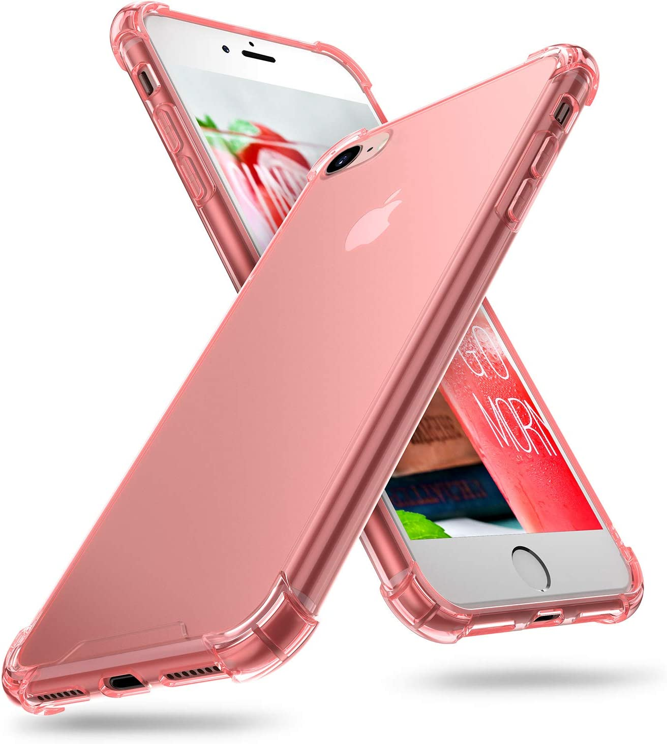 Compatible with iPhone 7 Case with 4 Corners Shockproof Protection ORIbox Case Compatible with iPhone SE 2020 Case Compatible with iPhone 8 Case