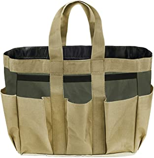 Garden Tools Bag with Handle, Portable Garden Tool Tote Bag Gardening Storage Bag Organizer Tool Carrier Holder Bad with M...