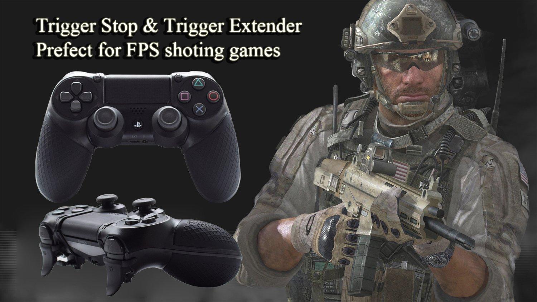 Controlador PS4 Armor Gear Trigger Stop y Extender, Hikfly Rubber ...
