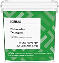 Amazon Brand – Solimo Dishwasher Detergent Pacs