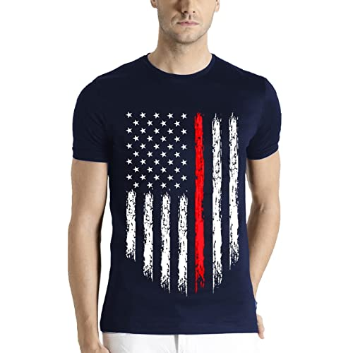 ADRO Men's Cotton T-Shirt (Rnr-M-Usa-Nb)
