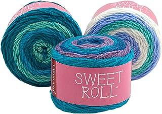 Premier Yarns Sweet Roll Yarn, Multi-Colour, 12.06 x 12.06 x 9.52 cm