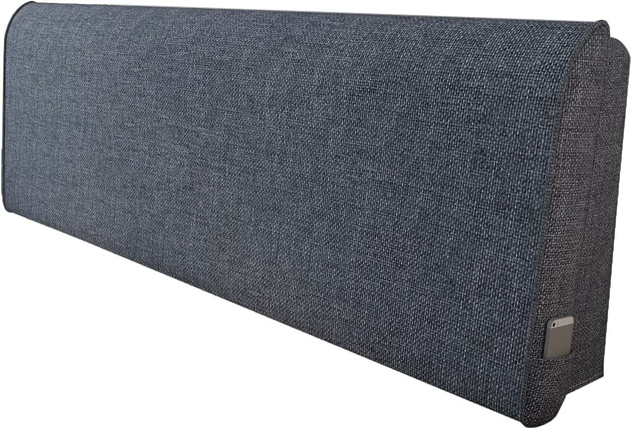 Upholstered Super intense SALE Headboard Reading Max 54% OFF Pillow Single Double Sof Headrest