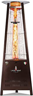 Lava Heat Italia - AMAZON-105 - Capri Patio Heater - Heritage Bronze Finish - Natural Gas Configuration