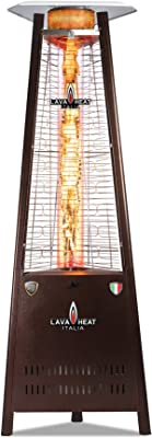 Lava Heat Italia - AMAZON-105 - Capri Patio Heater - Heritage Bronze Finish - Natural Gas Configuration
