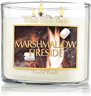 White Barn & Co14.5 Oz. 3-wick Candle Marshmallow Fireside