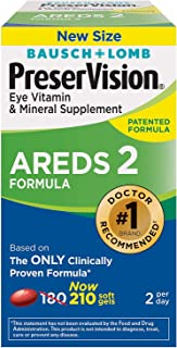 Bausch and Lomb PreserVision AREDS 2 Formula Supplement 210ct