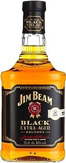 Jim Beam Black Extra-Aged Kentucky Straight Bourbon Whiskey, einzigartiges und ausbalanciertes Aroma, 43% Vol, 1 x 0,7l