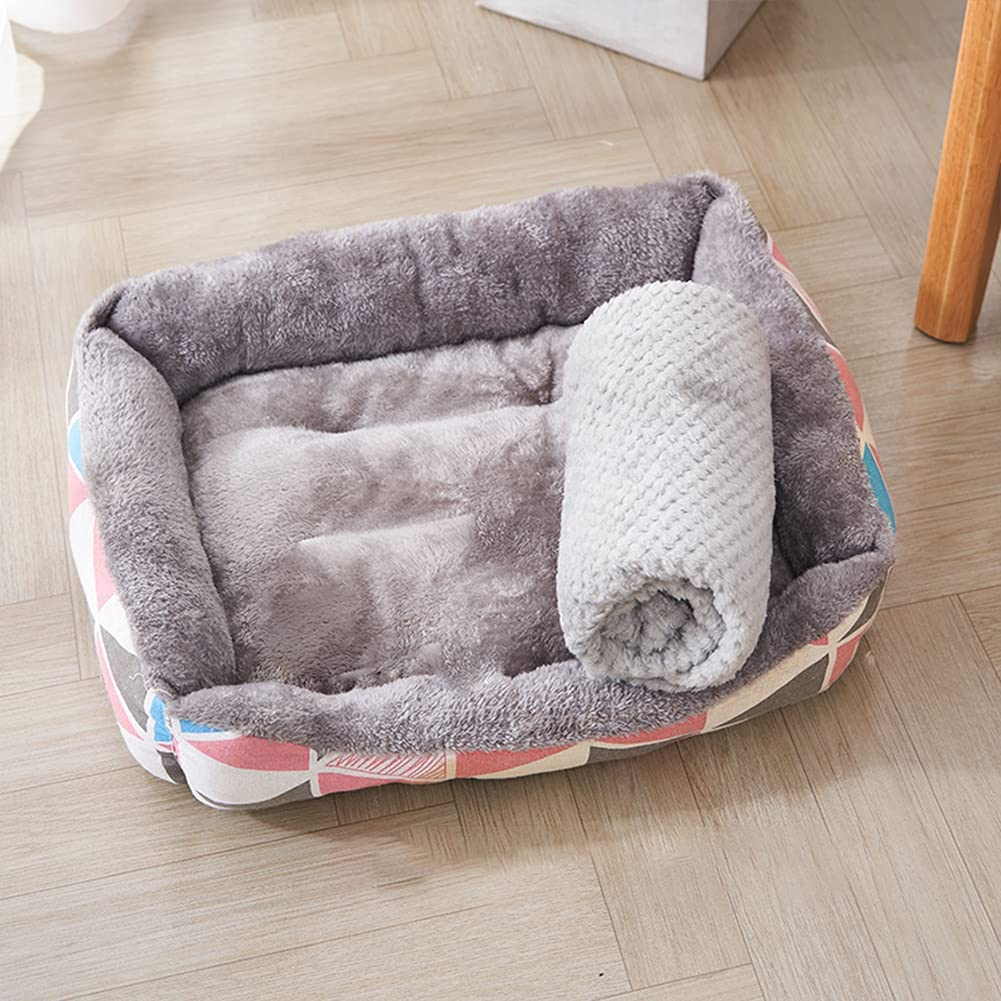 AKDXM NEW before selling Indoor Dog Bed Universal cat Ranking integrated 1st place Large-Scale Medium-Sized