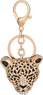 Giftale Leopard Handbag Charms Accessories Purse Keychain for Women,#4181