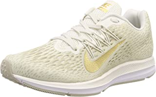 Nike Women's WMNS Zoom Winflo 5, Phantom/Metallic Gold-String