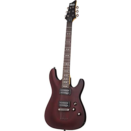Strings Black Cherry Deluxe Bundle with Guitar Tuner Strap Picks Schecter Omen Extreme-6 Electric Guitar and More Cable