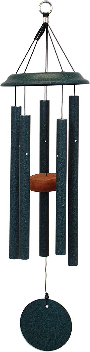 Topics on TV Shenandoah Melodies 25-inch Limited price sale Green Windchime